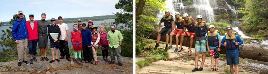 CCBS Alumni Event Campout and Hiking